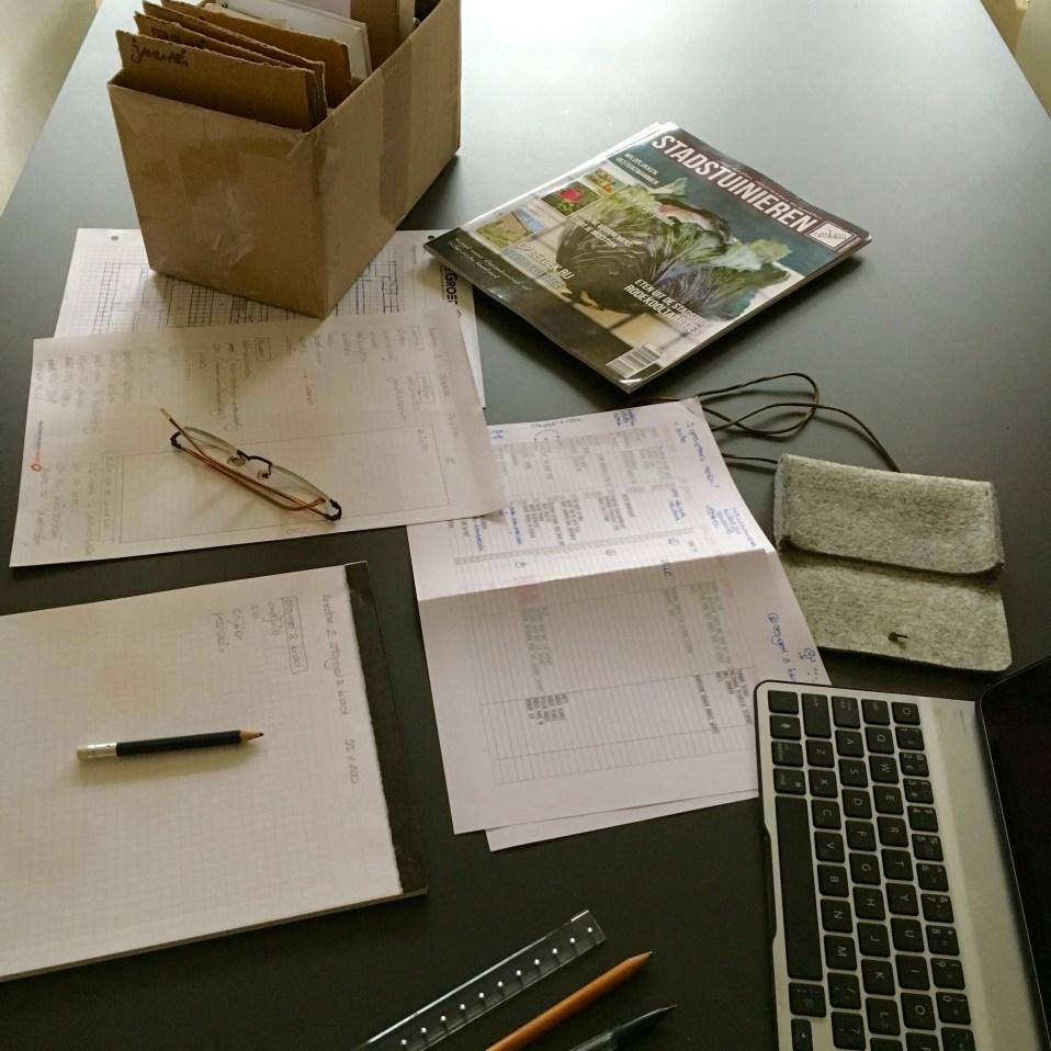 workshop moestuinplan maken
