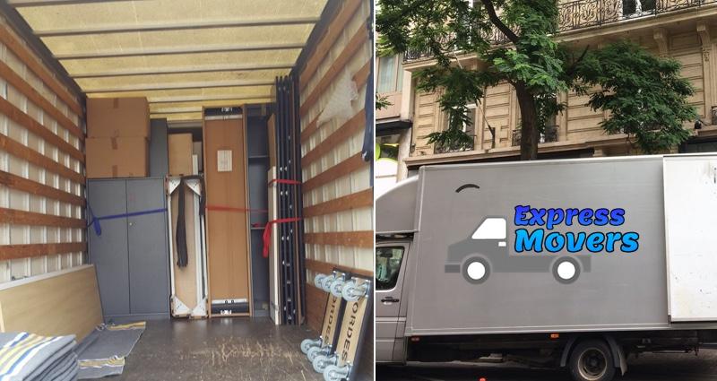 transport de mobilier camion demenagement pas cher bruxelles