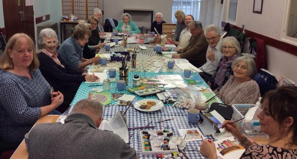 Preparing for our Dementia Awareness Week Exhibition