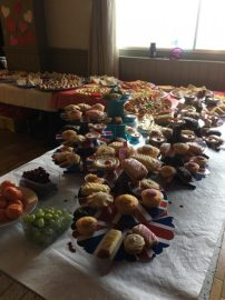 A spread fit for royalty!