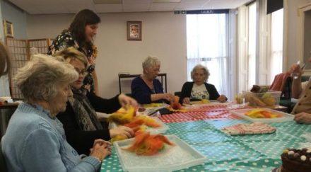 Dementia Support South Lincs Sunflower Challenge 2018