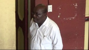 Carville Duncan at the Georgetown Magistrates' Court.