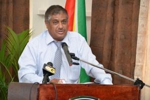Commissioner General (on leave) of the Guyana Revenue Authority, Khurshid Sattaur.