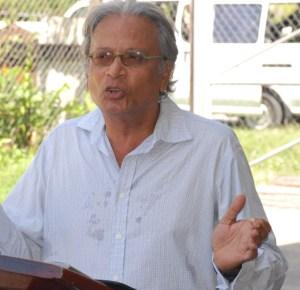 Minister of Education, Dr. Rupert Roopnaraine.