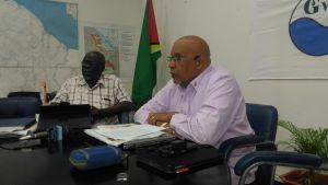 GWI CEO Dr Richard Van West Charles