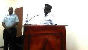 Prison Officer Esther Charles