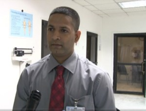 Dr. Kishore Persaud, Transplant Surgeon and Head, Nephrology Department Georgetown Public Hospital Corporation