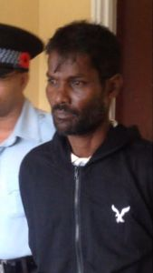 """MURDER ACCUSED: Jainarine """"Payo"""" Balgobin."""