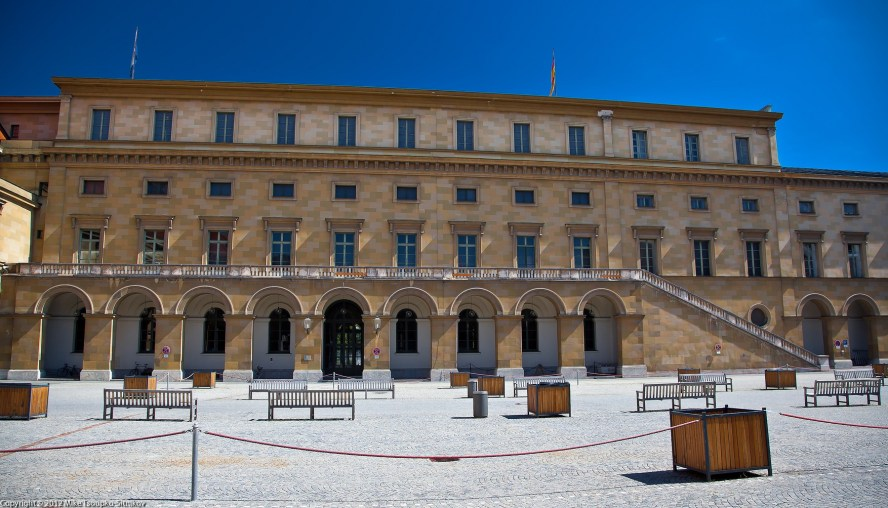 Festsaalbau - the northern part of the Residenz