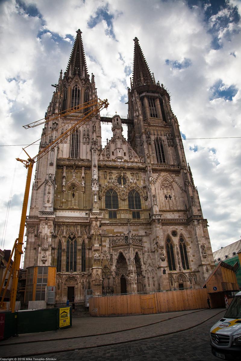 Regensburg. St. Peter's Cathedral