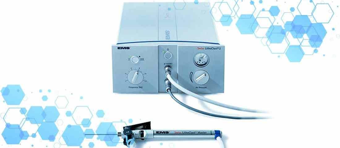 Swiss Lithoclast 2 para eliminación de cálculos renales