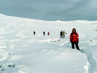 Pe platoul vulcanic de sub Vârful Ruscii