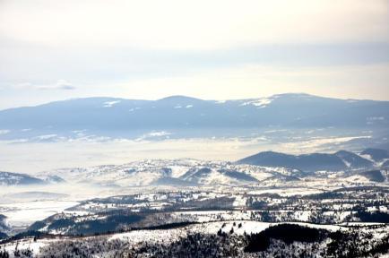 Ceaţă peste munţi