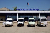 Prima oprire pe teritoriul Republicii Moldova, a fost în autogara din orașul Călărași. Cu această ocazie, am făcut cunoștiință, cu ceea ce înseamnă transportul în comun, între două localități în Republica Moldova. Mijlocul principal de transport în comun, este microbusul, iar cu el am avut ocazia să mă mai întâlnesc de câteva ori, pe parcursul călătoriei noastre