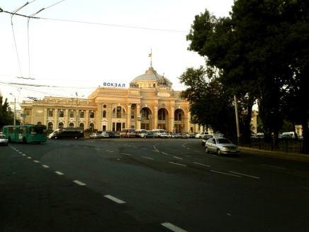 Clădirea gării din Odessa