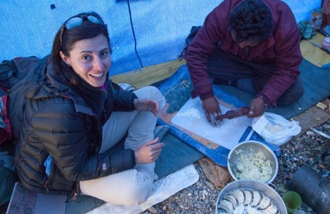 Demet Güzey, author of Food on Foot: A History of Eating on Trails and In the Wild