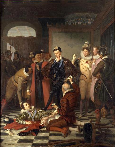Durupt_-_Henri_III_poussant_du_pied_le_cadavre_du_duc_de_Guise