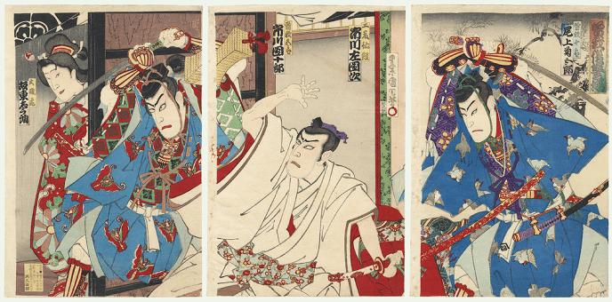 Soga_Brothers_Surprising_Suketsune,_1890