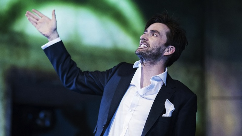 Image result for david tennant purple suit