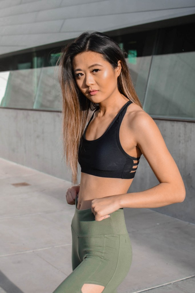 Ellie Activewear April Monthly Subscription Workout Clothes - Demi Bang
