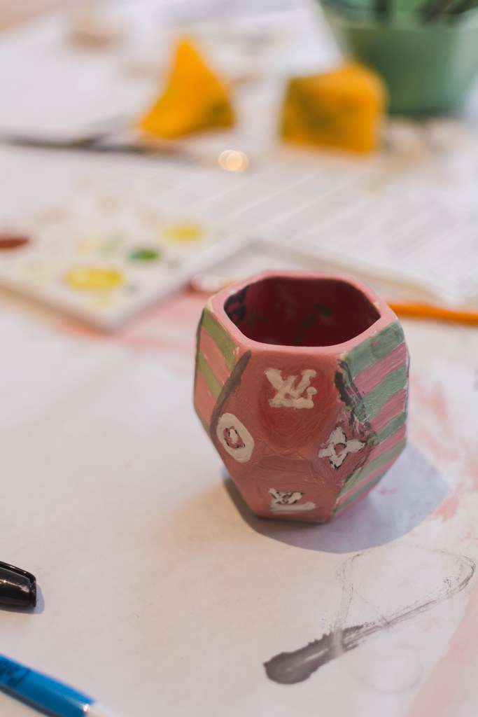 Color Me Mine - Pottery Painting - Biltmore Fashion Park - Demi Bang