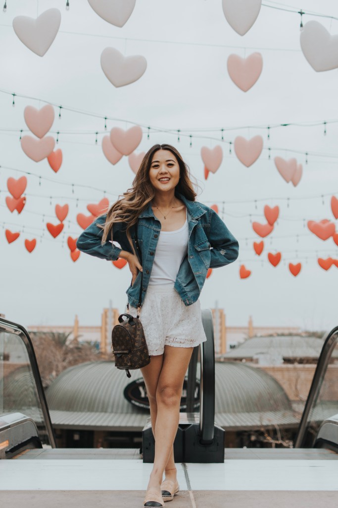 Arizona blogger, Demi Bang, checks out Westgate in Glendale, Arizona for Valentine's Day.