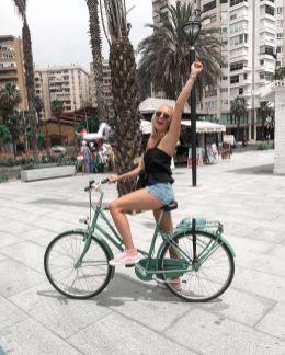 Ik en fietsen in een vakantie? Je ziet het ;)