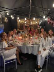 21 diner! Meidengroep