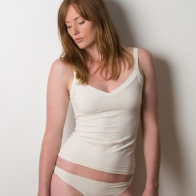 REVERSIBLE CAMISOLE WITH WIDE STRAPS