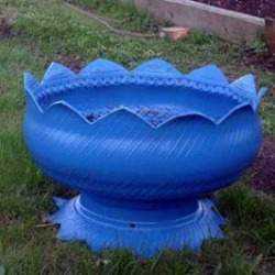 Что можно сделать из шин своими руками для сада – Поделки ...