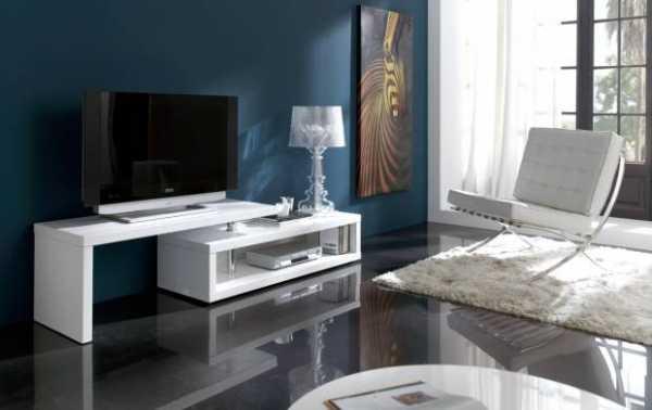 Длинная тумба под телевизор в современном стиле ...