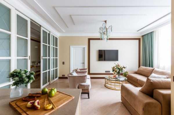 Как оформить стену в гостиной с телевизором фото – Дизайн ...