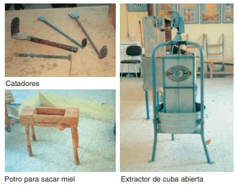 Instrumentos para la extracción del la miel