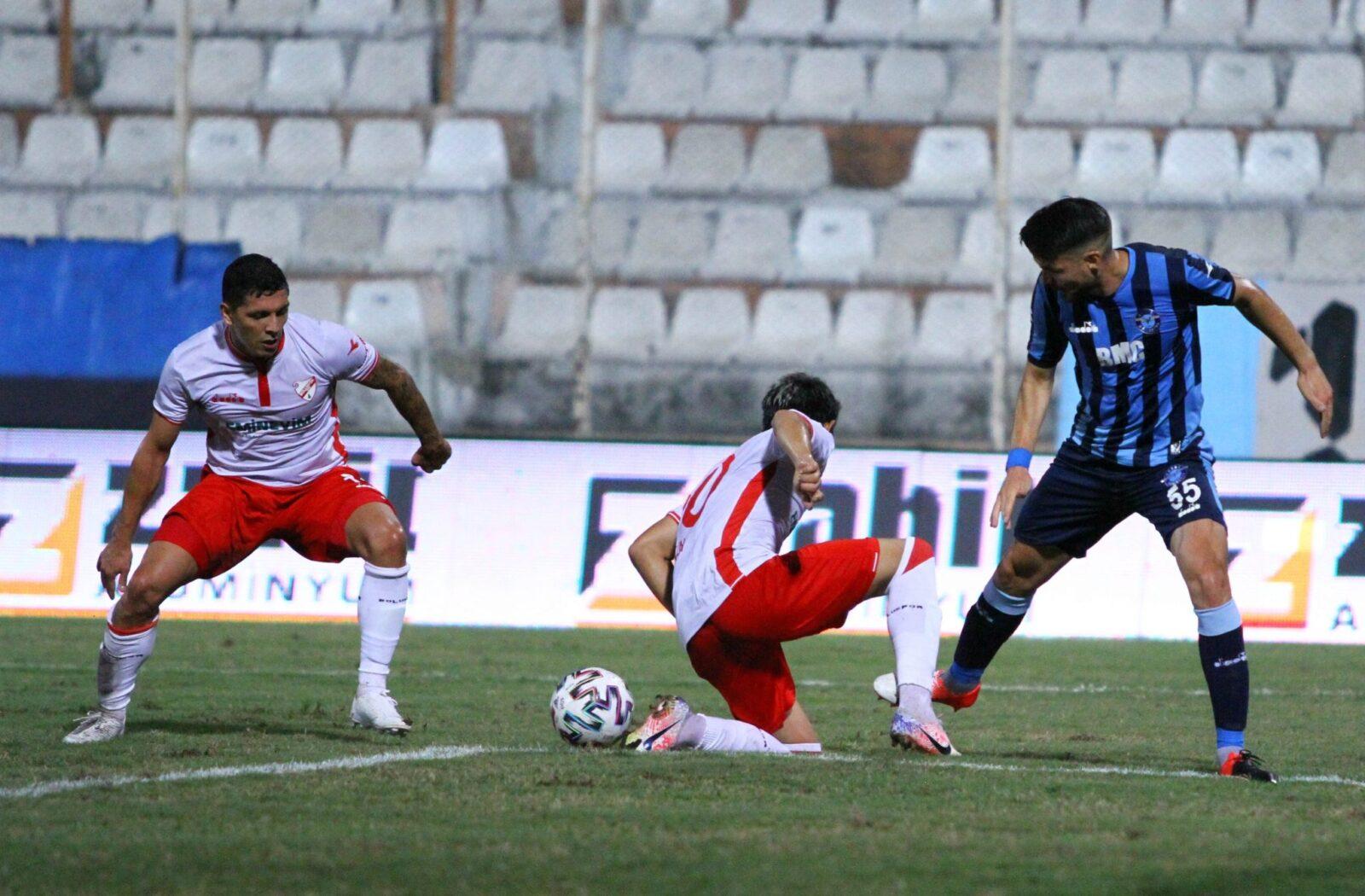 Adana Demirspor : 1-1 : Boluspor 21.09.2020 2 – 2 4