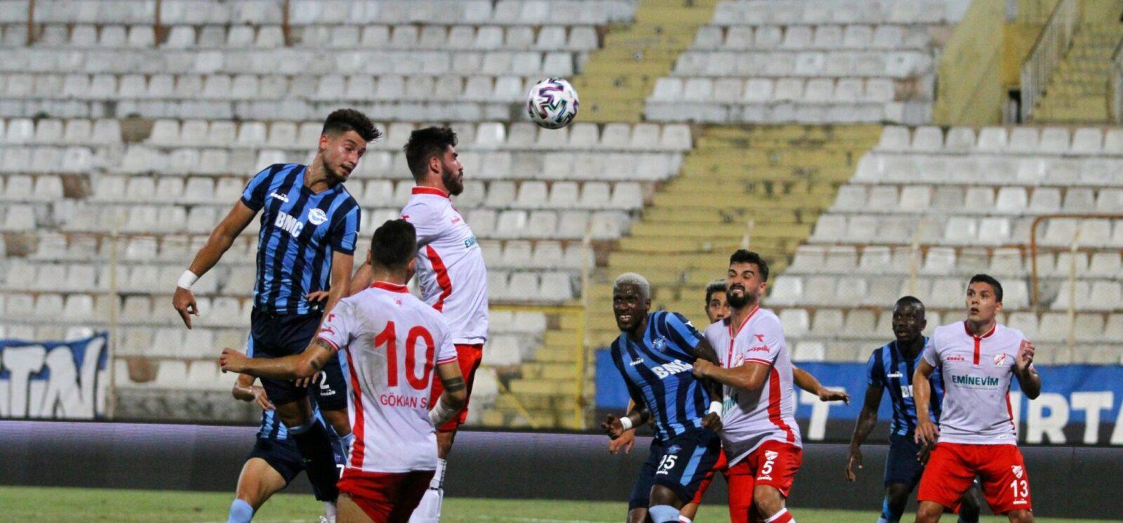 Adana Demirspor : 1-1 : Boluspor 21.09.2020 4 – 4 4