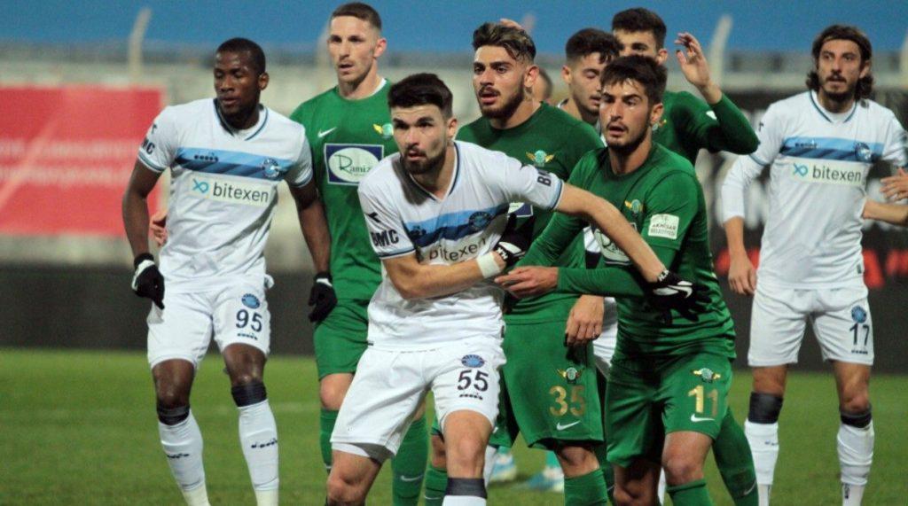 Adana Demirspor - Akhisarspor | 6.12.2020 3 – 3