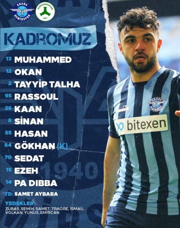Adana'da 11'ler belli oldu 1 – Screenshot 2 2
