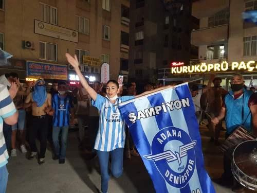 Adana'da şampiyonluk coşkusu! 1 – 1