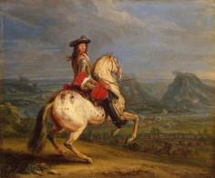 Louis XIV au siège de Besançon.