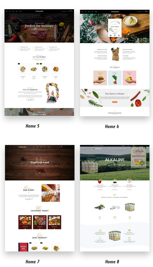 Organic Orgafresh – Organic & Food WooCommerce WordPress Theme - 2