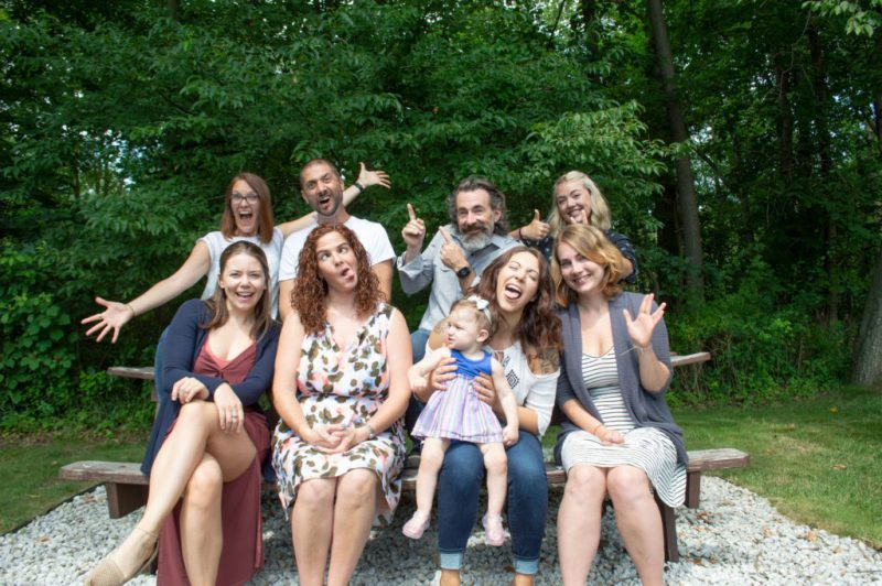 photo of the BizBudding team