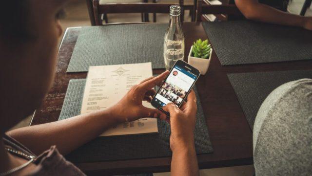 phone hand areal news