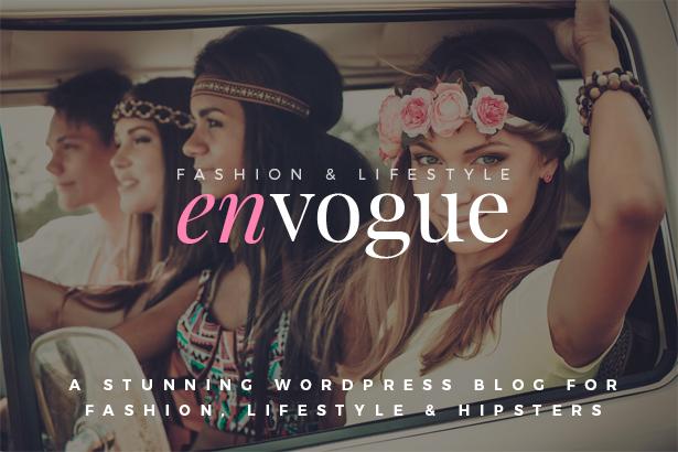 EnVogue | Fashion & Lifestyle WordPress Blog Theme - 1