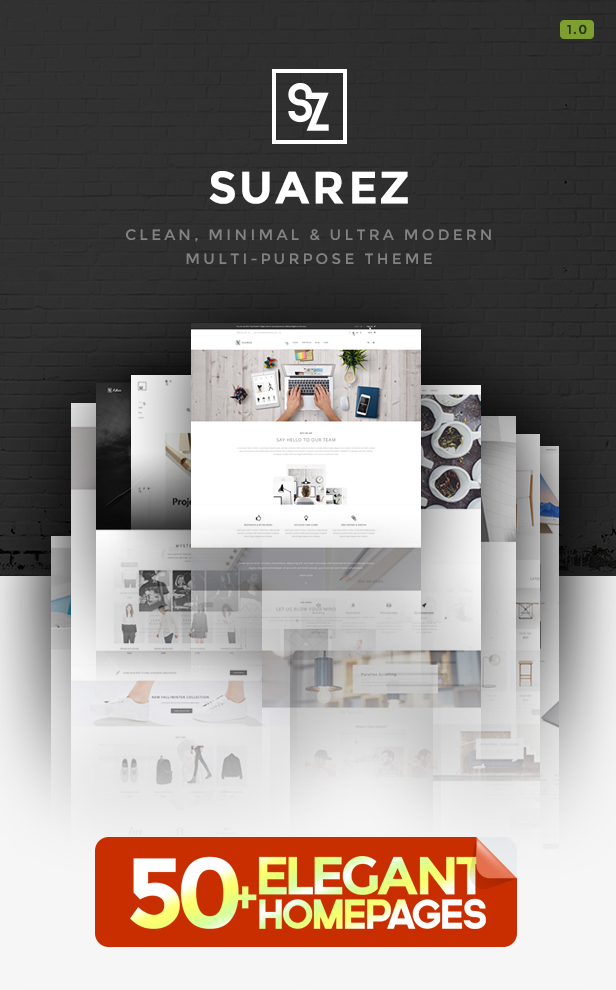Suarez - Clean, Minimal & Modern Multi-Purpose WordPress Theme - 6