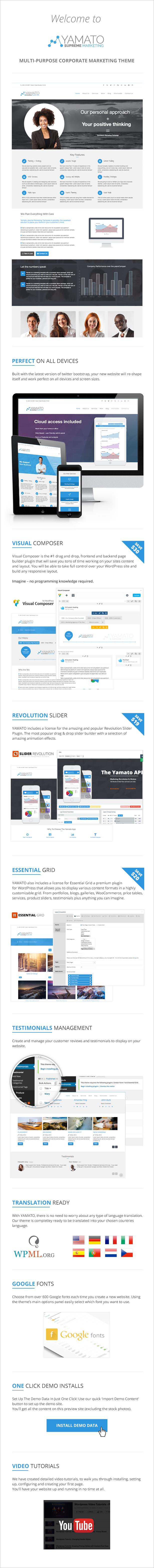 YAMATO - Corporate Marketing WordPress Theme - 9
