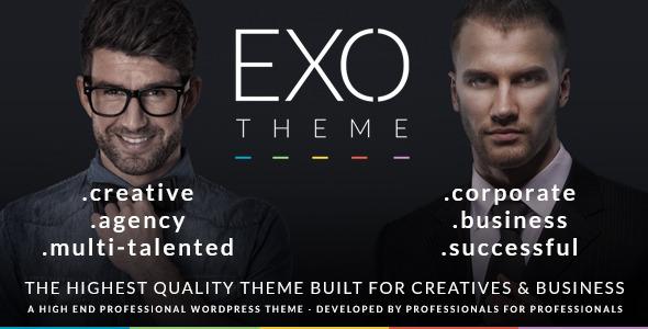 EXO | Creative and Corporate Specific Purpose Theme