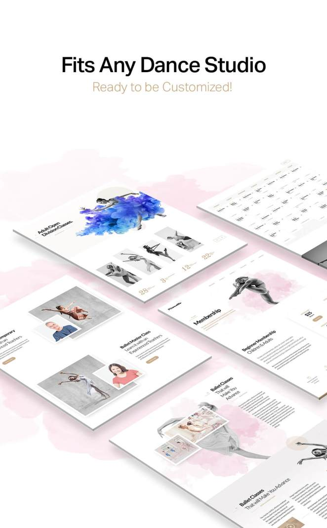 Dance WordPress Theme - Dancing Academy - 5