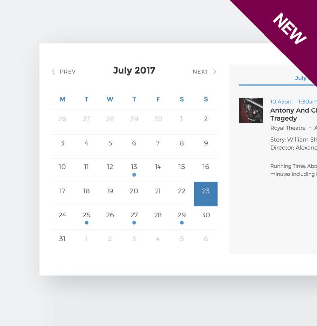 Events Schedule - WordPress Events Calendar Plugin - 4