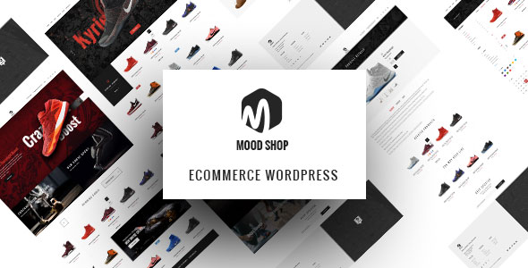 MoodShop - Modern eCommerce WordPress theme for Selling Footwear Online