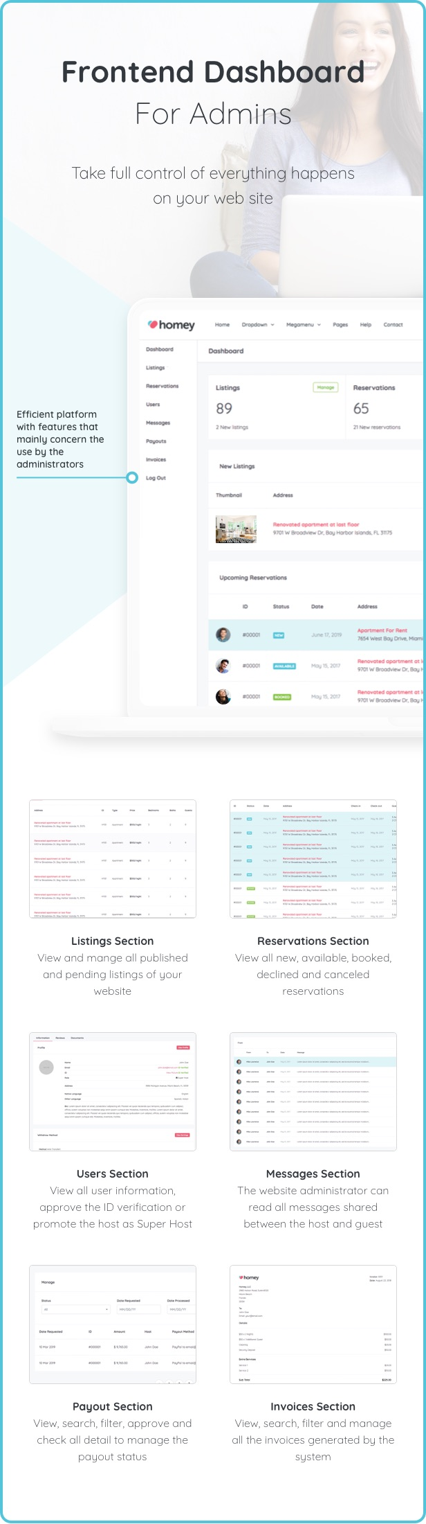 Homey - Booking and Rentals WordPress Theme - 13